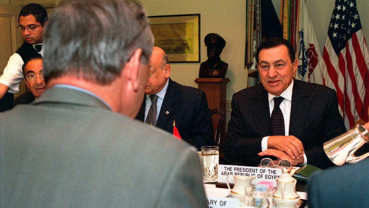 حسني مبارك, الرئيس المصري الأسبق