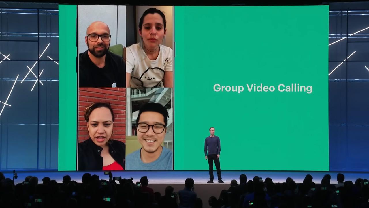 واتس أب, تحديثات فيسبوك, مارك زوكربيرج, مؤتمر فيسبوك 2018