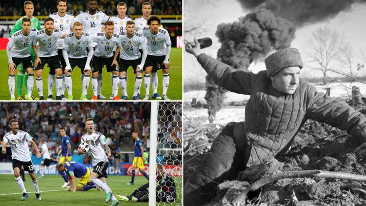 منتخب ألمانيا, ألمانيا, روسيا, معركة ستالينجراد, كأس العالم 2018