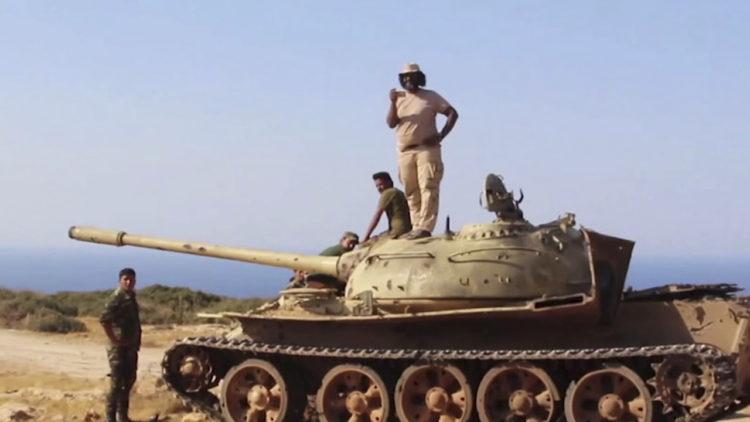 درنة، ليبيا، الجيش الليبي، خليفة حفتر