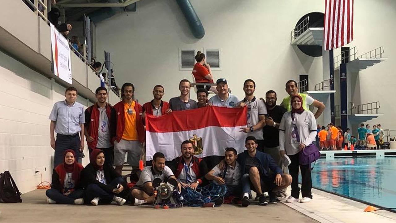 الغواصات الآلية, مصر, مسابقة الغواصات الآلية, هندسة, جامعة الإسكندرية, علوم