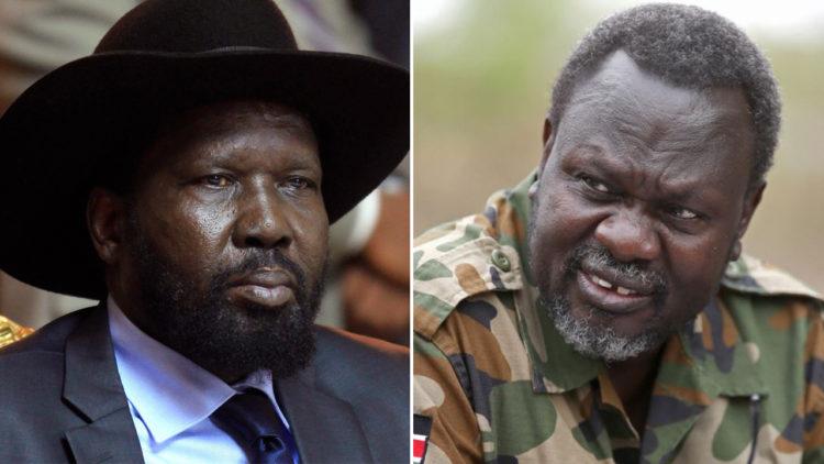 سلفا كير، رياك مشار، جنوب السودان