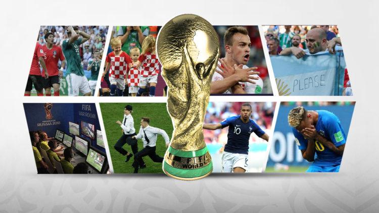 كأس العالم، مونديال روسيا، روسيا2018، فرنسا، كرواتيا، نيمار، فلاديمير بوتين، مبابي