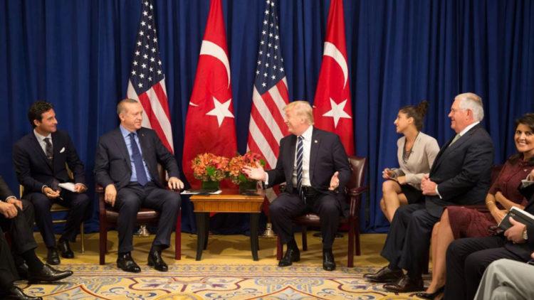 دونالد ترامب,رجب طيب أردوغان, تركيا,الولايات المتحدة الأمريكية, الأزمة التركية, العلاقات الأمريكية التركية