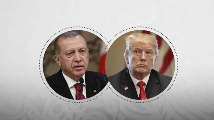 دونالد ترامب، رجب طيب أردوغان، الولايات المتحدة الأمريكية، تركيا