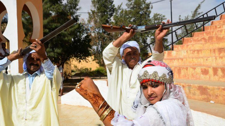 حفل زفاف, الجزائر, تقاليد الزواج, الوطن العربي, السودان, ضرب العريس