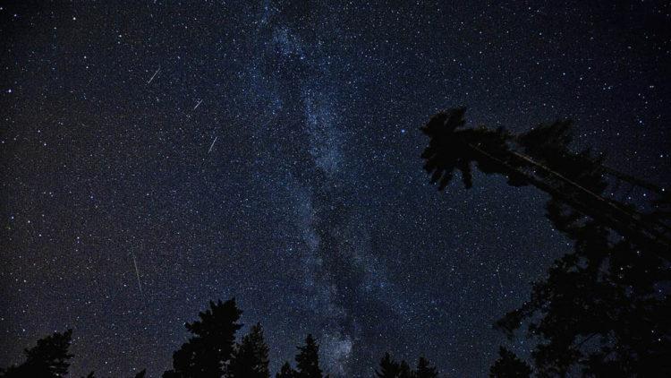 برشاويات, شهب, أغسطس, فلك, رصد فلكي, سماء الليل, كواكب, نجوم