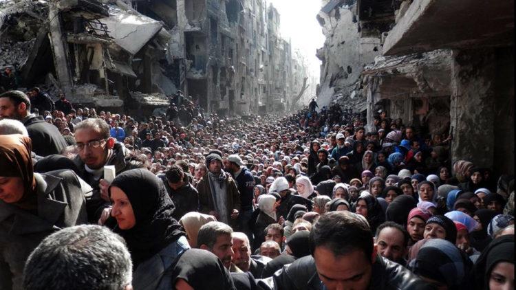 مخيم اليرموك, فلسطين, سوريا, الثورة السورية, لاجئون, العالم العربي