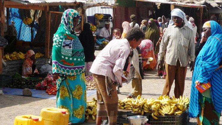 اليمن, الاقتصاد اليمني, أسواق شعبية, اقتصاد, انهيار الاقتصاد