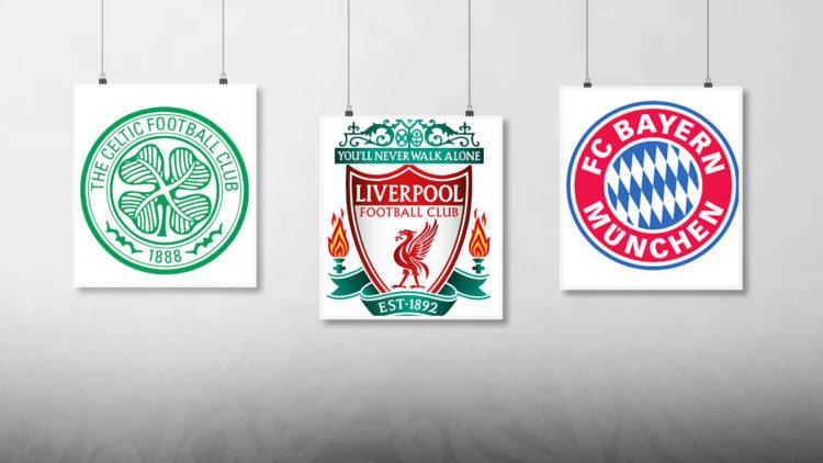 ليفربول, مانشستر يونايتد, بايرن ميونخ, إيه سي ميلان, الدوري الإنجليزي, كرة القدم العالمية