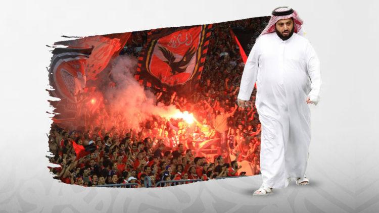 تركي آل الشيخ, النادي الأهلي, محمود الخطيب, مرتضى منصور