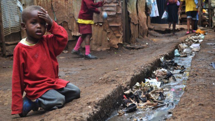 حي كيبيرا الفقير في كينيا
