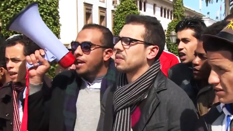 مظاهرات, المغرب, العنف الجامعي, طلاب الجامعات