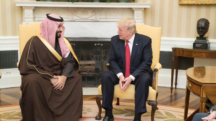 دونالد ترامب, محمد بن سلمان, الولايات المتحدة الأمريكية, السعودية