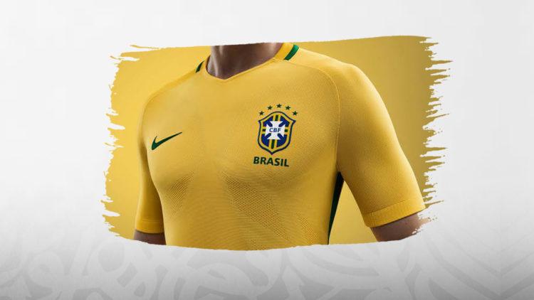 المنتخب البرازيلي, البرازيل, قميص منتخب البرازيل