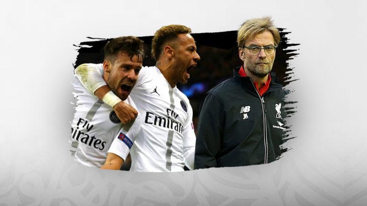 ليفربول، باريس سان جيرمان، دوري أبطال أوروبا.