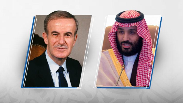 محمد بن سلمان, حافظ الأسد, سوريا, السعودية