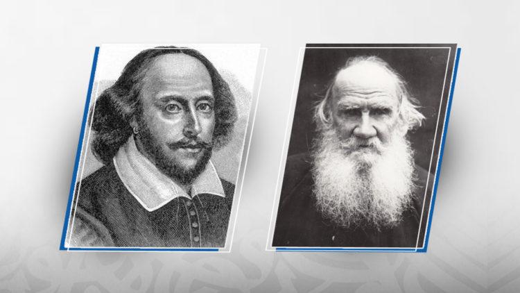 ليو تولستوي, ويليام شكسبير, أدب روسي