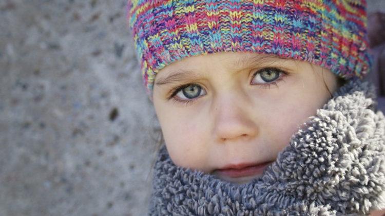 الإنفلونزا، نزلات البرد، طفل