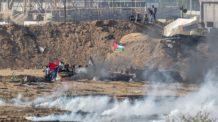 غزة، تظاهرات، فلسطين، إسرائيل