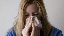 إنفلونزا، برد، امرأة