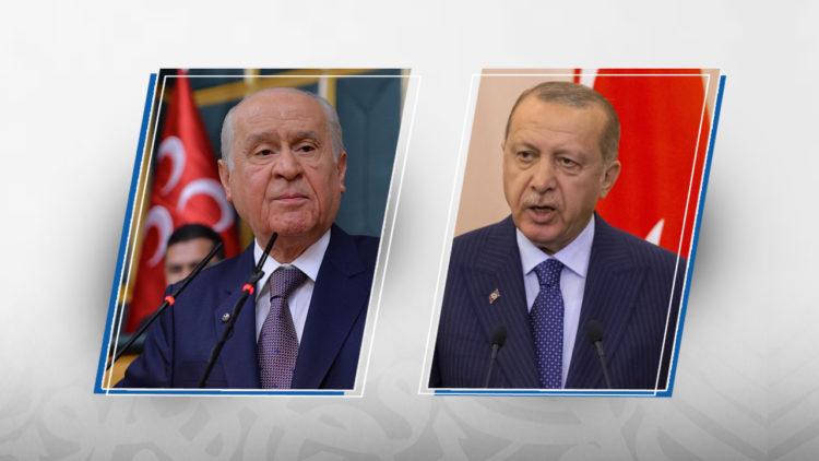 رجب طيب أردوغان، دولت بهجلي، تركيا