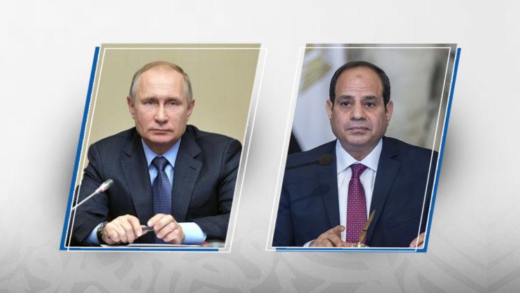 الرئيس المصري, عبد الفتاح السيسي, فلاديمير بوتين, روسيا, مصر