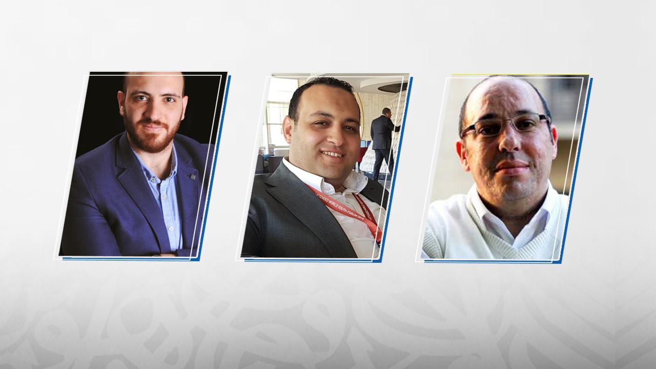 لؤي الشواربي, أحمد عادل, أحمد رويحل