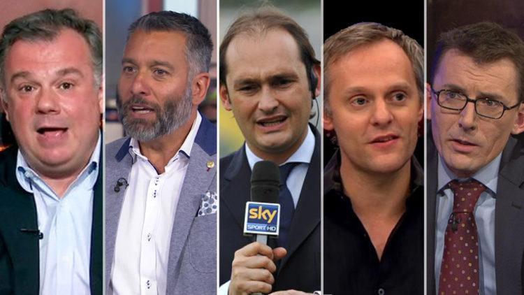 صحفيين رياضيين, جوناثون ويلسون, بارني روني, جيانلوكا دي مارزيو, جليم بلاج, جابرييل ماركوتي