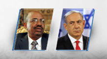 السودان، إسرائيل، عمر البشير، بنيامين نتنياهو