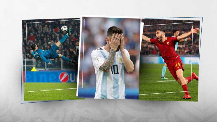 محمد صلاح, ليونيل ميسي, الأرجنتين, كأس العالم, مانولاس, روما, ريال مدريد, دوري أبطال أوروبا