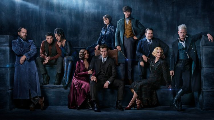 Fantastic Beasts 2، Johnny Depp، Eddie Redmayne، Jude Law، J. K. Rowling، إيدي ريدماين، جوني دب، ج ك رولنج، هاري بوتر