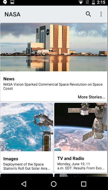 تطبيقات علمية، علوم، تطبيقات ذكية،NASA