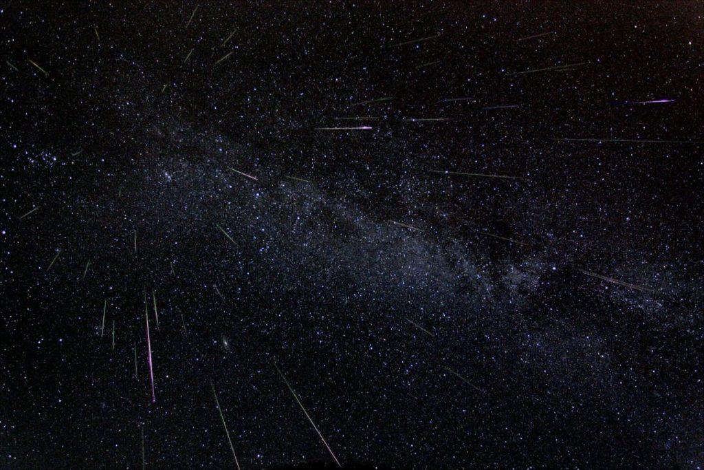 أحداث فلكية سنة 2019، البرشاويات، ناسا