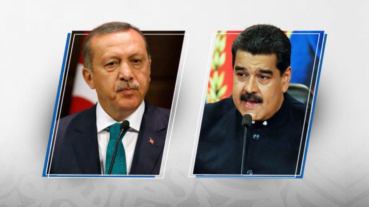 نيكولاس مادورو، رجب طيب أردوغان، تركيا، فنزويلا