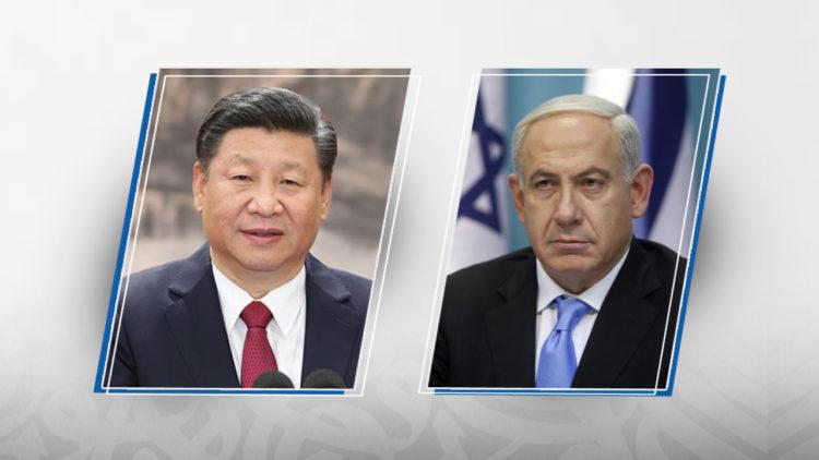 بنيامين نتنياهو, شي جين بينج, إسرائيل, الصين, الصهيونية