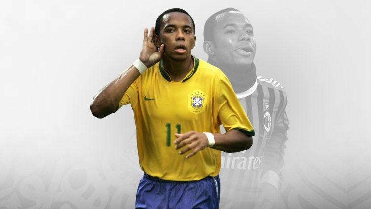 روبينيو, منتخب البرازيل, ميلان الإيطالي, ريال مدريد, مانشستر سيتي