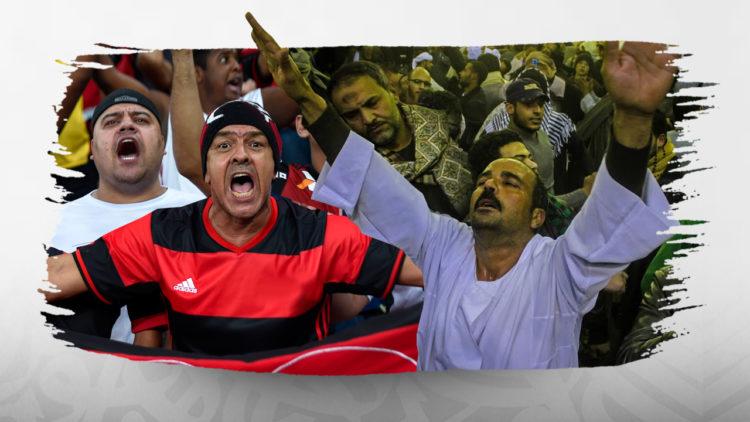 كرة القدم, المونديال, مشجعين, مصر, الأهلي, الزمالك