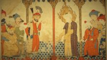 لوحة الفالنامه، النبي، الملائكة، جبريل، الإسلام