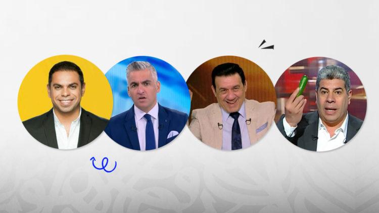 أحمد شوبير, سيف زاهر, مدحت شلبي, كريم حسن شحاتة