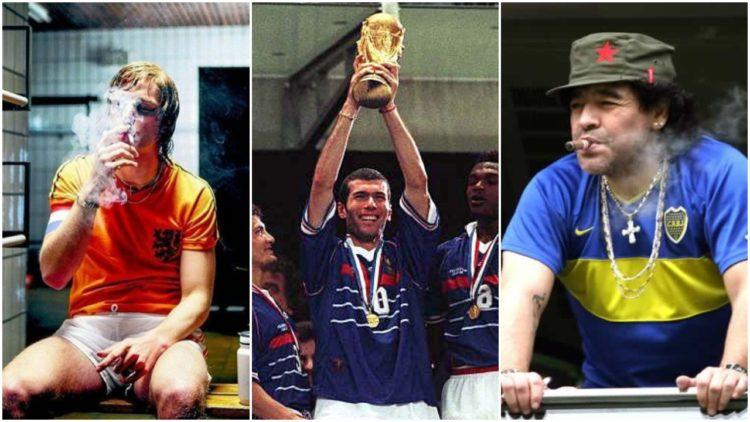 دييجو مارادونا, زين الدين زيدان, يوهان كرويف, كأس العالم, منتخب الأرجنتين, منتخب فرنسا, منتخب هولندا