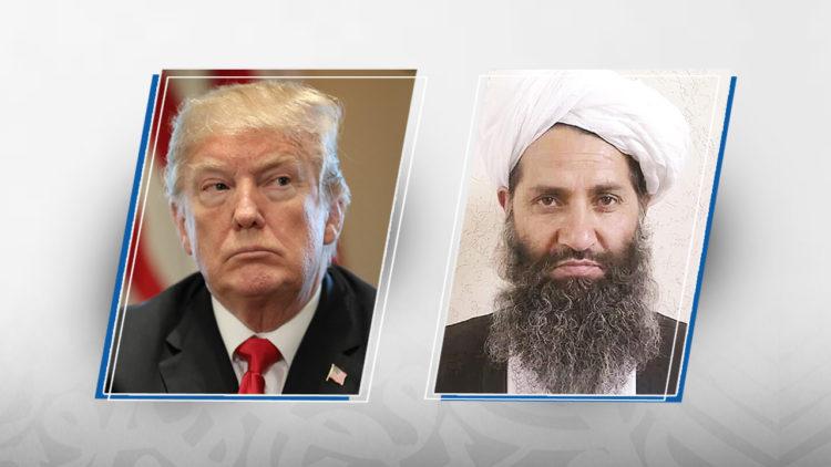 دونالد ترامب, هبة الله أخوند زاده, أفغانستان, الولايات المتحدة الأمريكية, طالبان