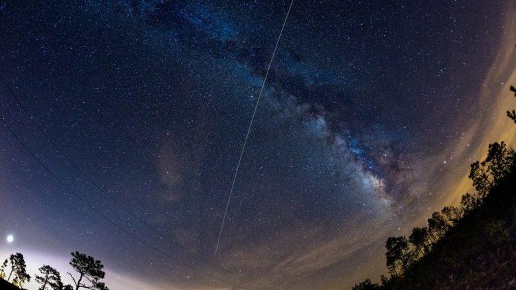 محطة الفضاء الدولية, فضاء, ناسا, رصد, سماء الليل