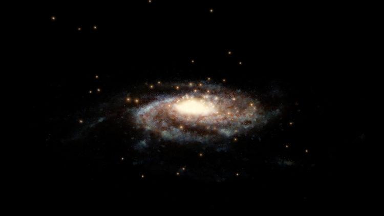 درب التبانة, المجرة, هابل, جايا, كتلة المجرة