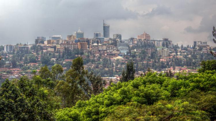 مدينة كيجالي, عاصمة رواندا, أفريقيا, تنمية
