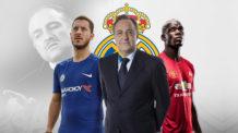 مانشستر يونايتيد, بول بوجبا, فلورنتينو بيريز, ريال مدريد, تشيلسي, ايدين هازارد