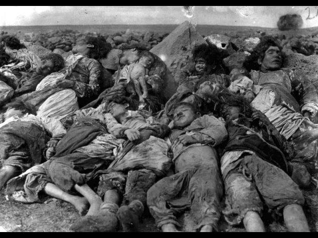 ضحايا أتراك على يد المتمردين الأرمن