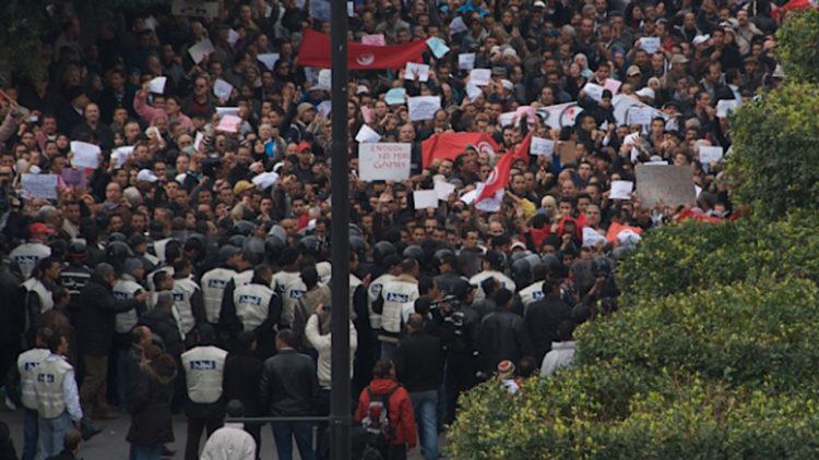 الربيع العربي، تونس
