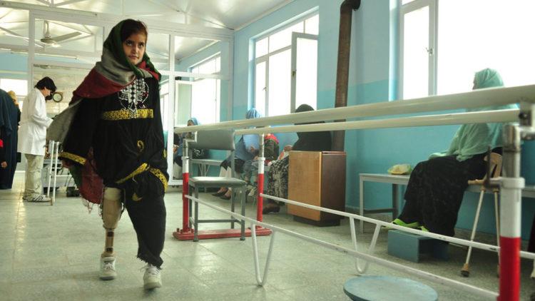 أفغانستان, كابول, أطفال, أطراف صناعية,