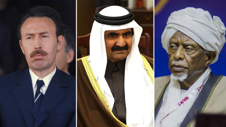 سوار الذهب, السودان, قطر, الجزائر, حمد آل ثاني, هواري بومدين
